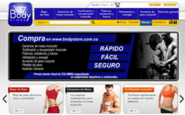 Bodystore & Quicken